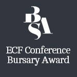ECF Conference Bursary Award image.