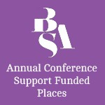 Annual Conference Support Funded Places logo